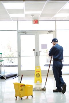 Floor cleaning in Hammond, IN by The Cleaner Zone