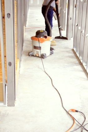 Construction cleaning in Posen IL by The Cleaner Zone